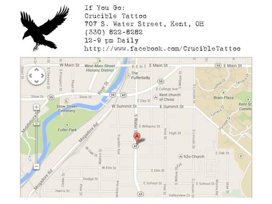 More information and mapped location
