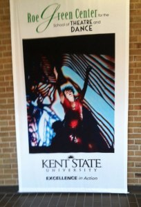Kent State School of Theatre and Dance is the first stop on the road to fame. (photo by Kelli Smith)